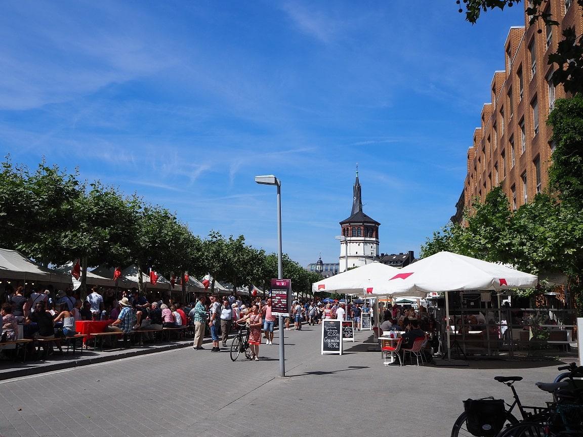 デュッセルドルフのフランス祭