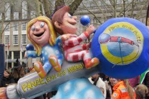 デュッセルドルフのカーニバルパレード
