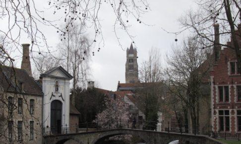 ベルギーのブルージュ街並み