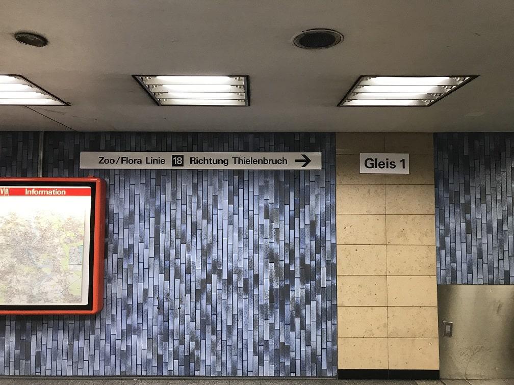 ケルン中央駅内