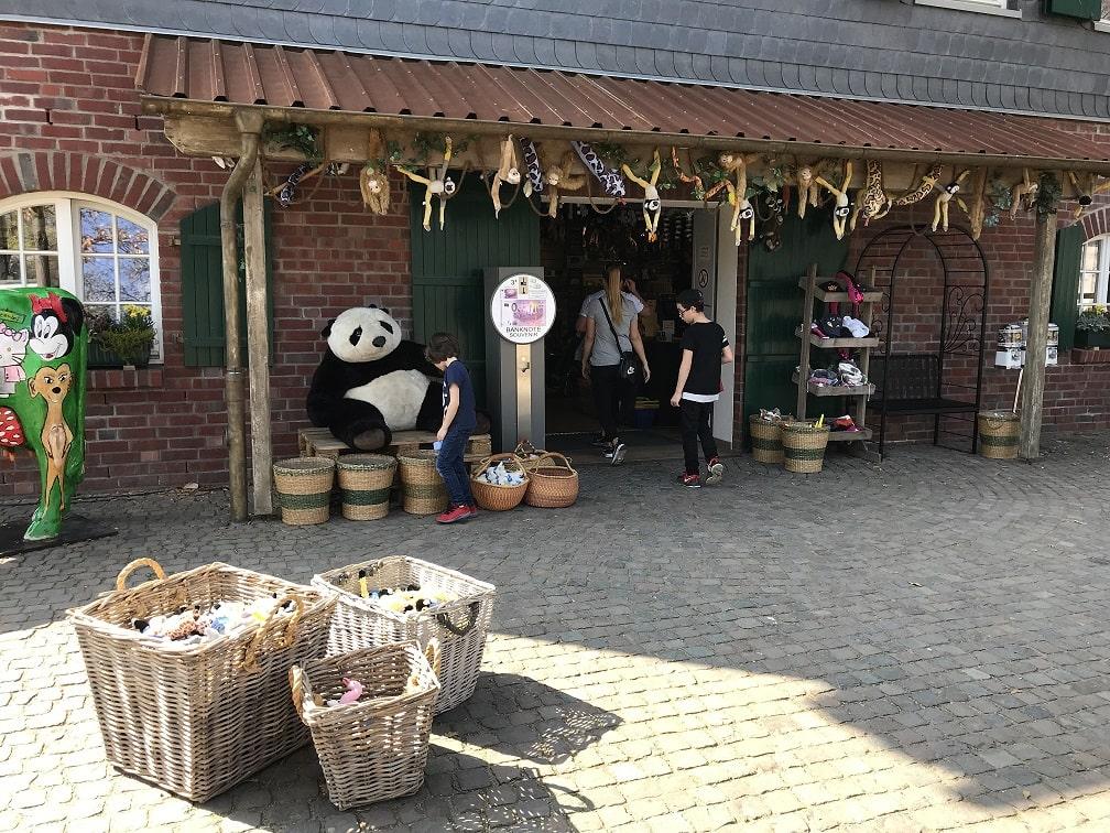 ケルン動物園の売店
