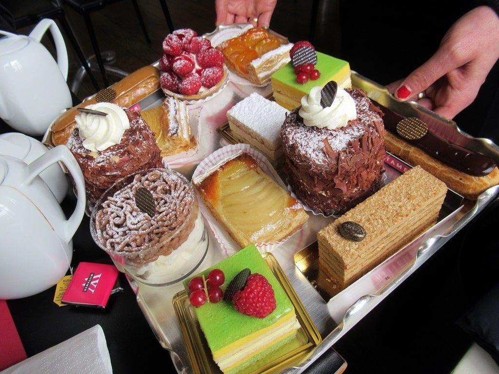 ヴィタメール・カフェのケーキ