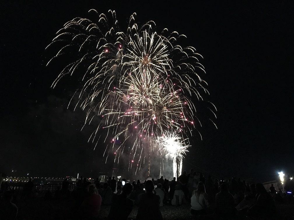 デュッセルドルフ夏のキルメス花火