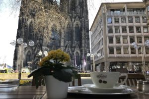 カフェ『ライヒャルト』からの眺望