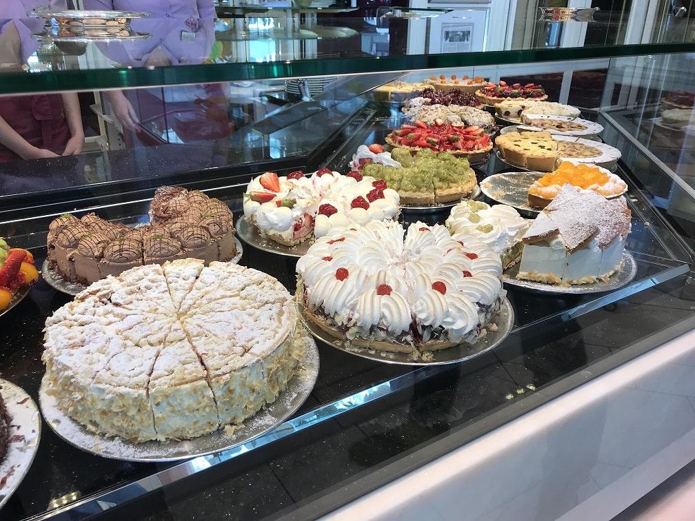 カフェ『ライヒャルト』のケーキ