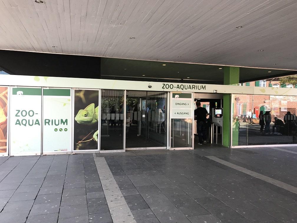 ケルン水族館の入口