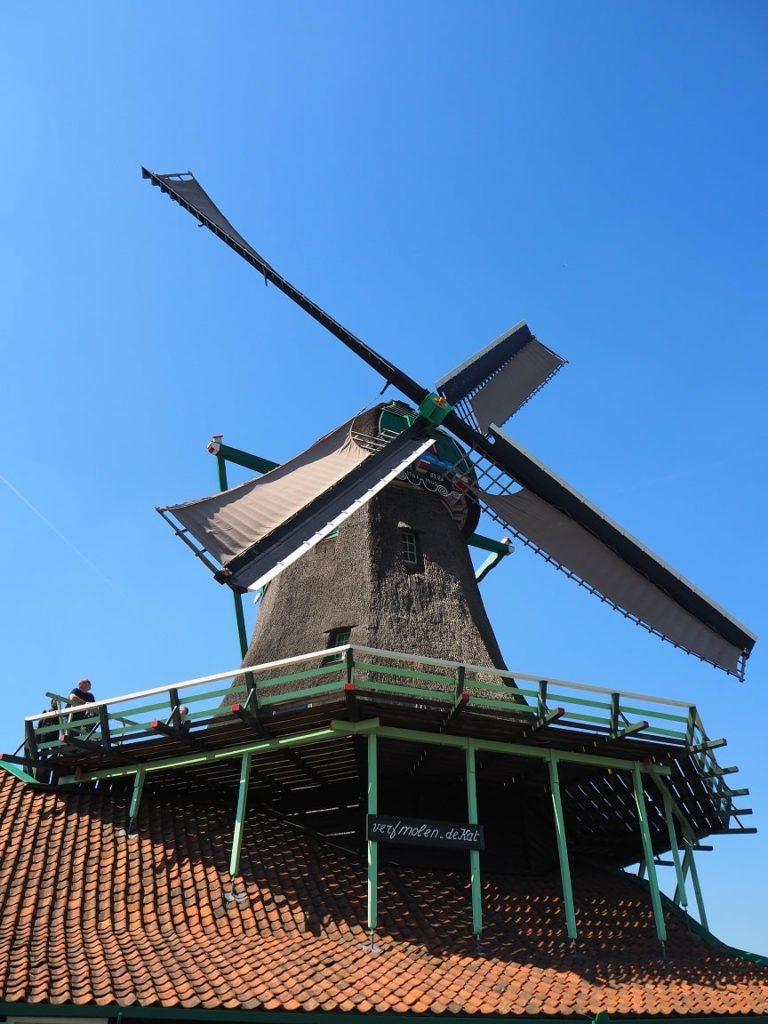 ザーンセ・スカンスの風車