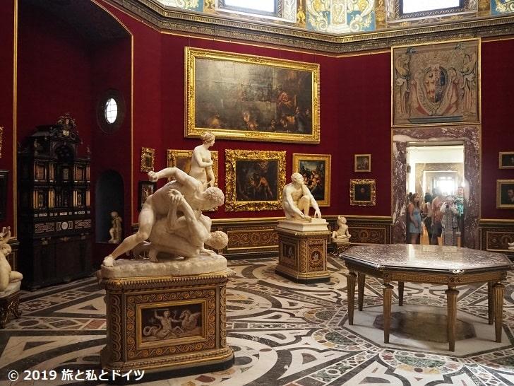 ウフィツィ美術館内