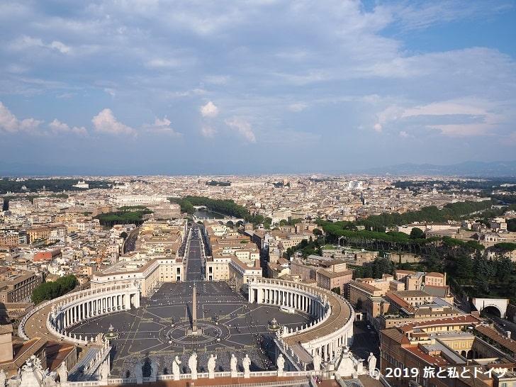 サンピエトロ大聖堂からの眺望