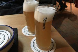 ブラウハウスボンシュのビール