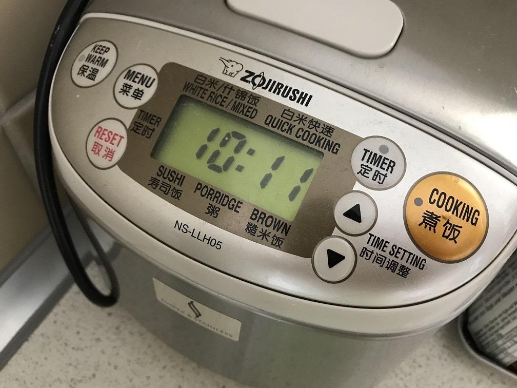 ドイツで使用している海外対応炊飯器
