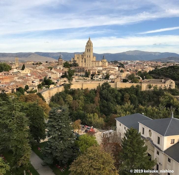 アルカサルからの景色
