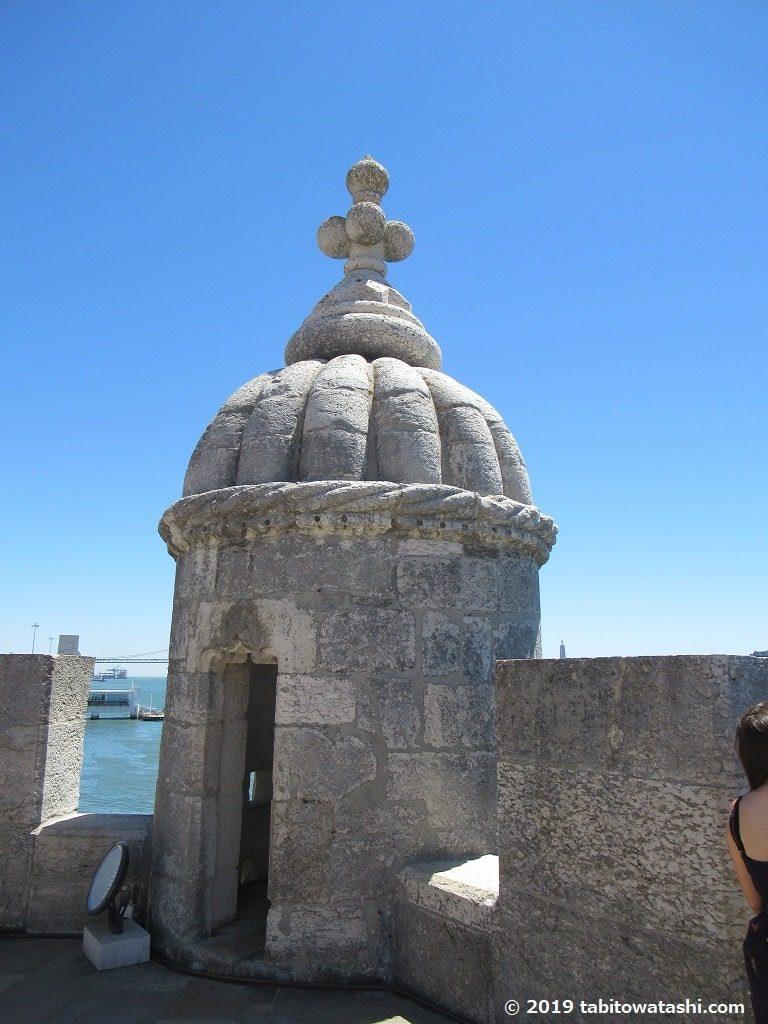 ベレンの塔の砲台