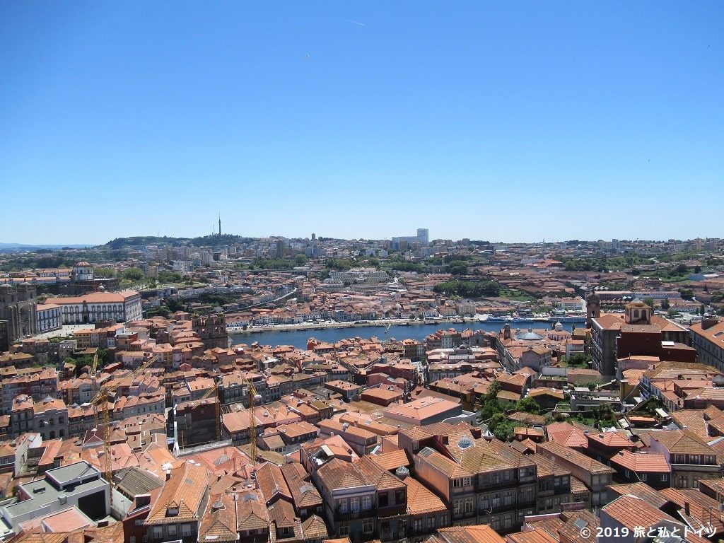 クレリゴス教会の塔からの眺め