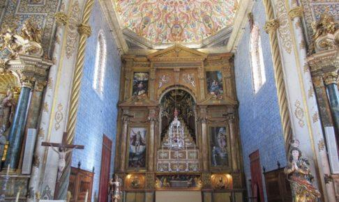 コインブラ大学内の礼拝堂