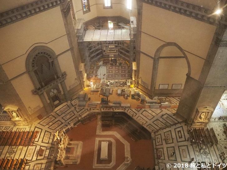 サンタ・マリア・デル・フィオーレ大聖堂の内装