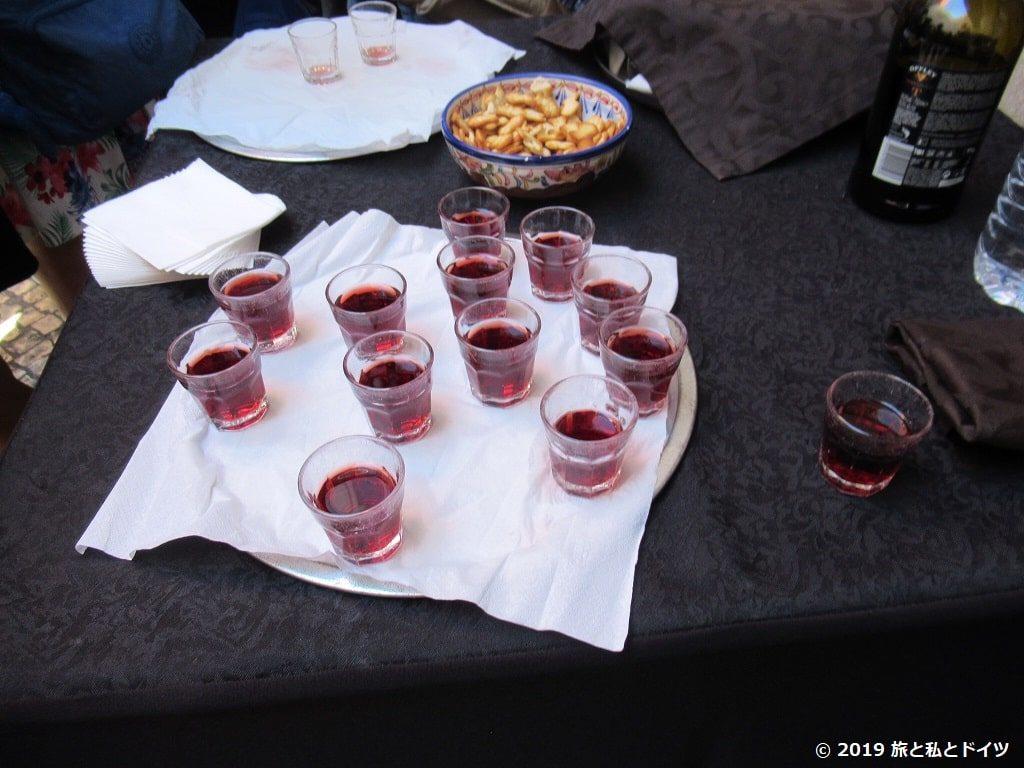 ファドのポートワイン試飲