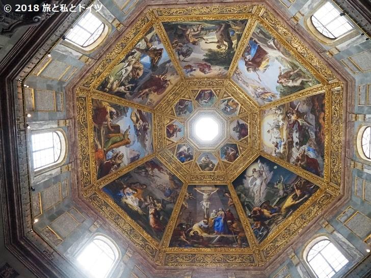メディチ家礼拝堂の天井