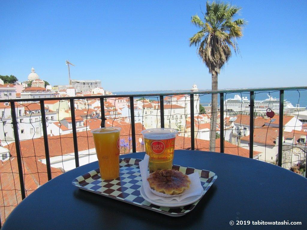 ポルタス・ド・ソルカフェからの眺望