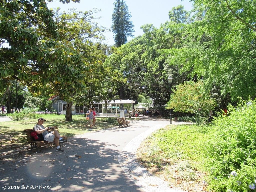 プリンシペ・レアル公園