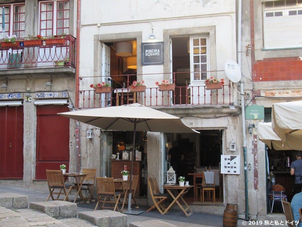 レストラン「ribeira square」外観