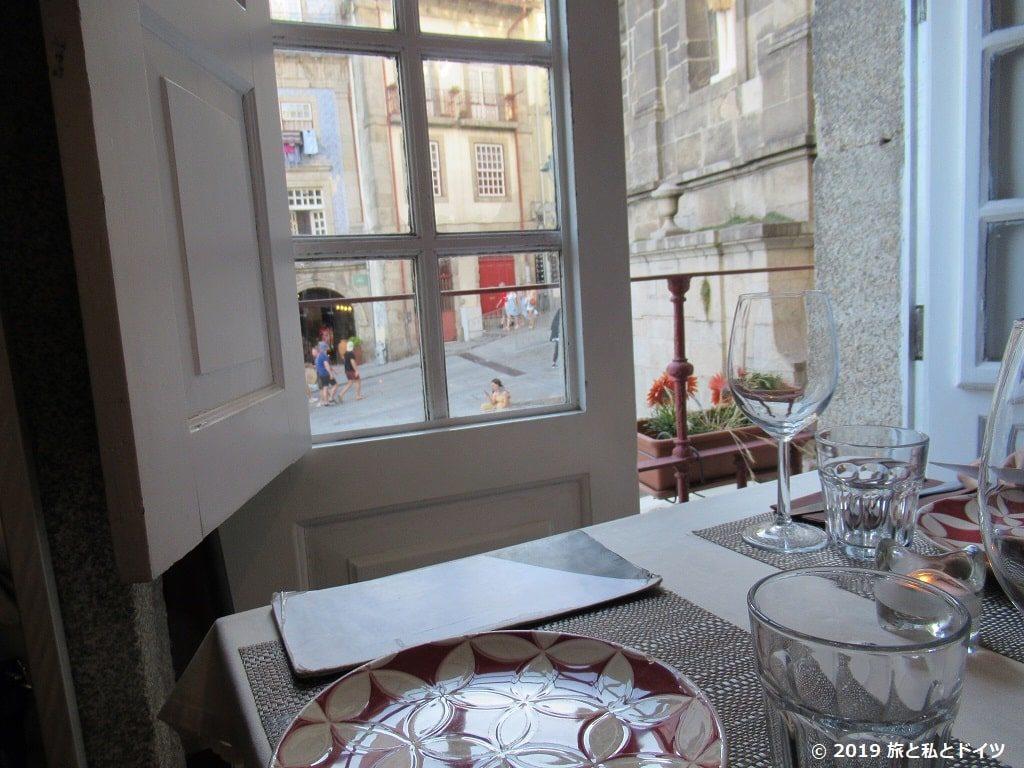 レストラン「ribeira square」の内装