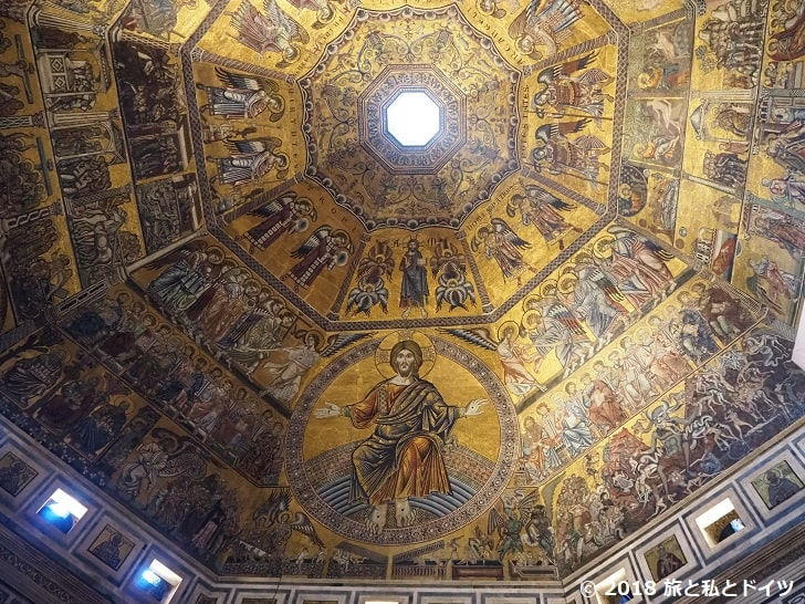 サン・ジョヴァンニ洗礼堂の天井画