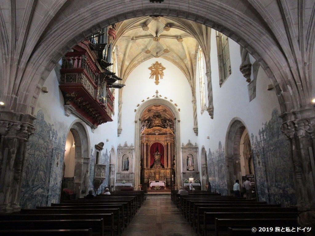 サンタ・クルス修道院内装