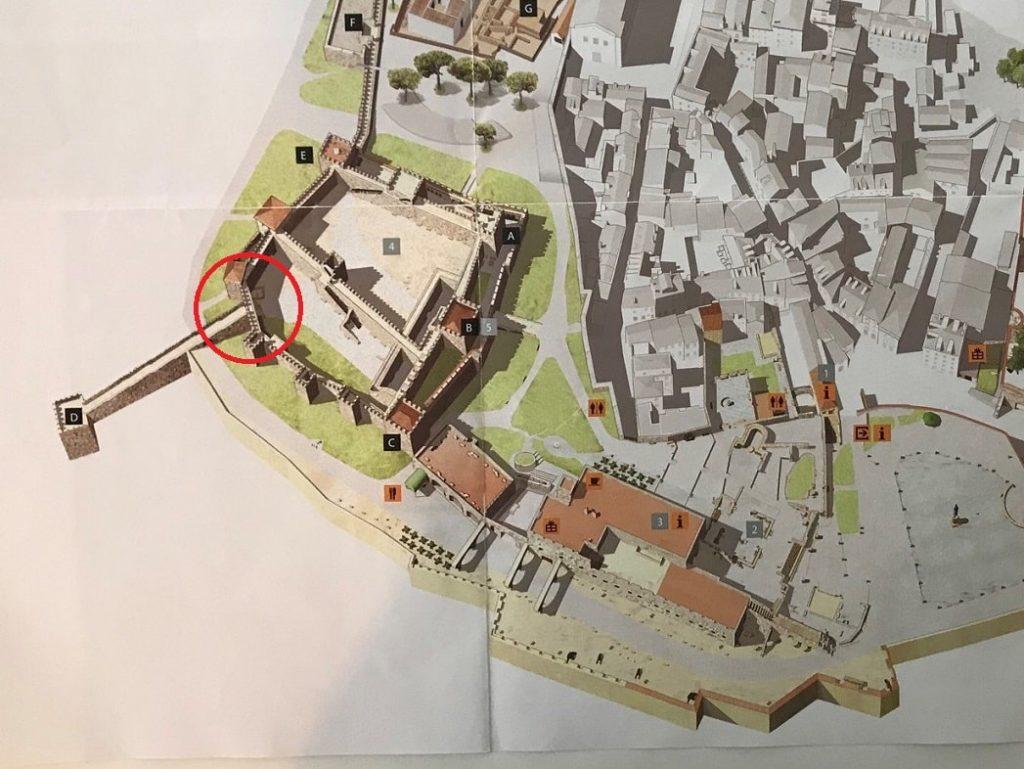 サン・ジョルジェ城日本語地図