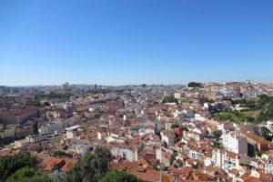 サン・ジョルジェ城からの眺め