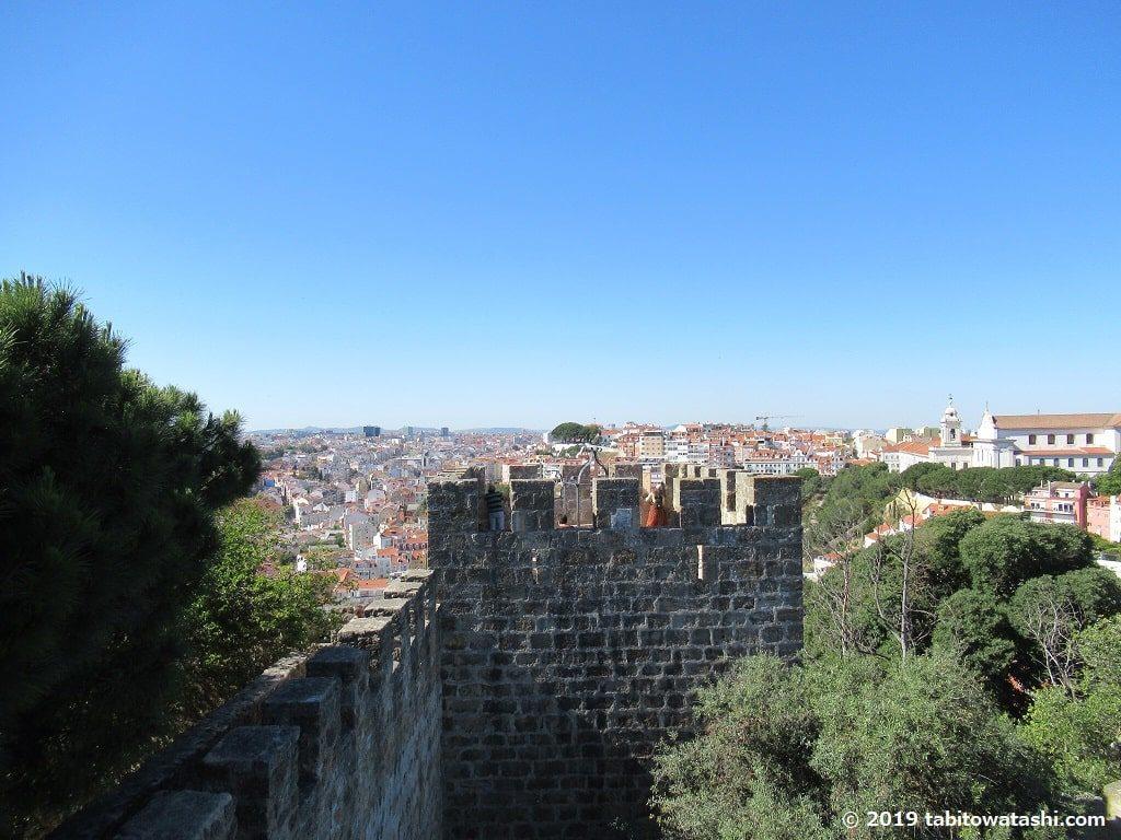 サン・ジョルジェ城からの眺望