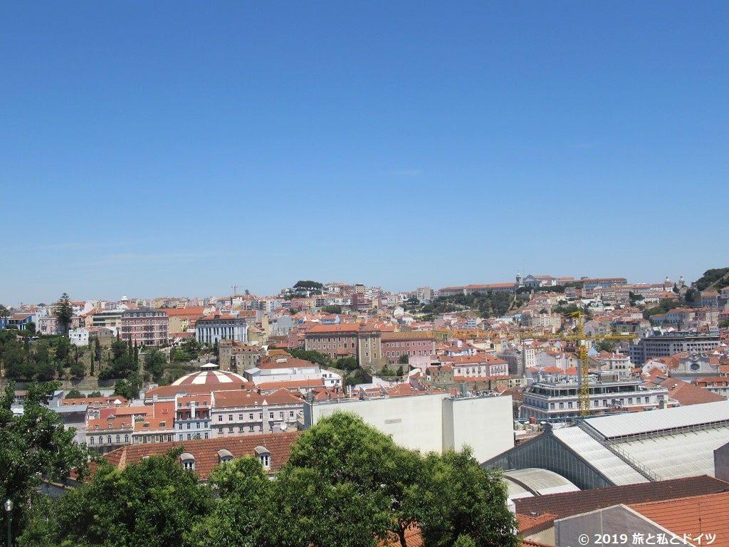 サン・ペドロ・デ・アルカンタラ展望台からの眺め