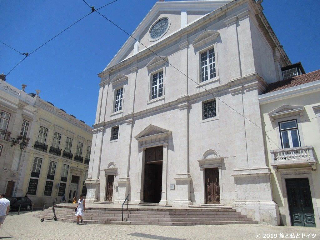 サン・ロケ教会の外観