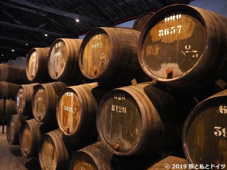 テイラーズの樽倉庫