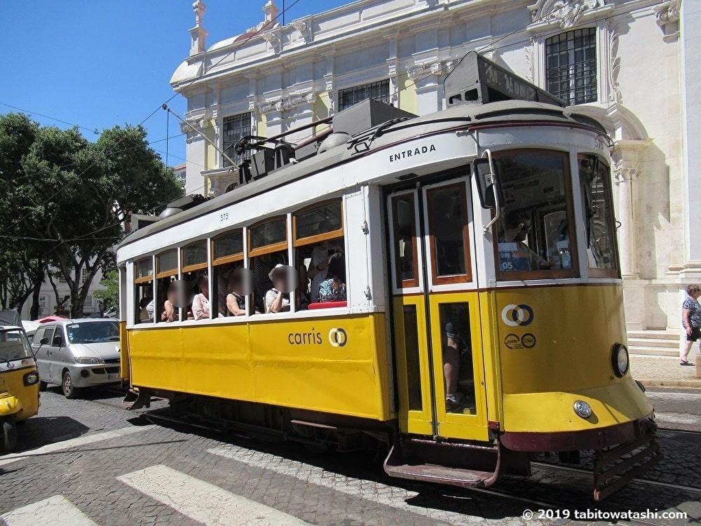 リスボンのトラム28