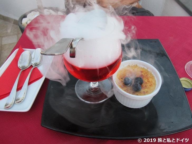 レストラン「1800 Froga」のデザート