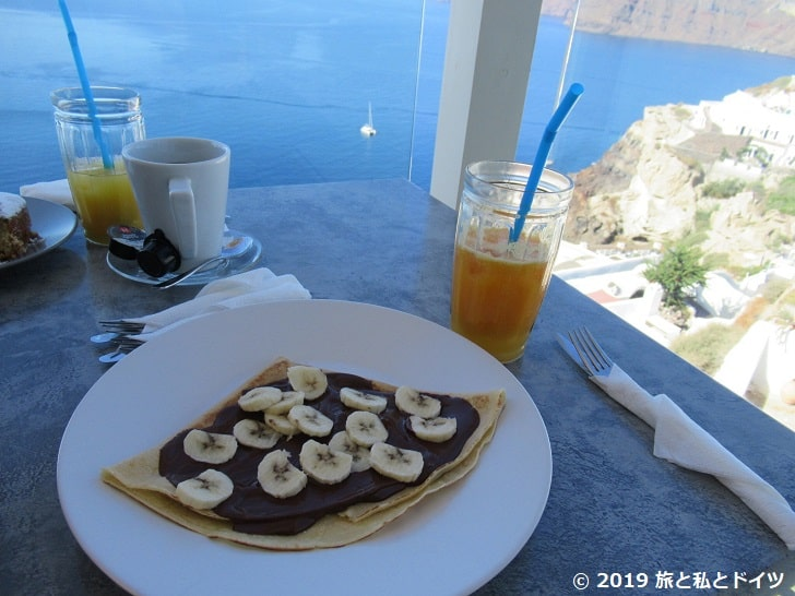 skiza cafeの朝食