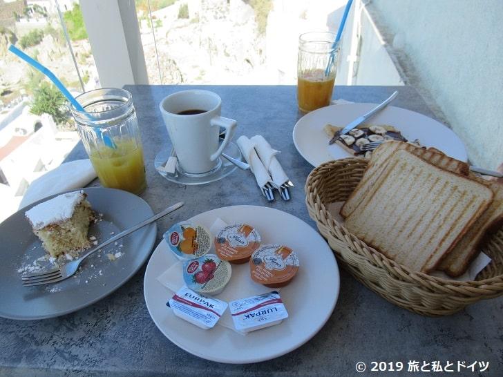 「Skiza」の朝食