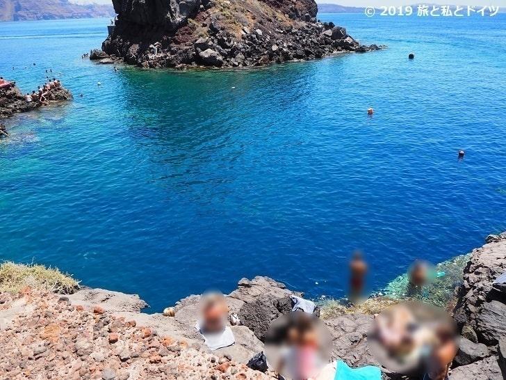 Ammoudi Bay Beach