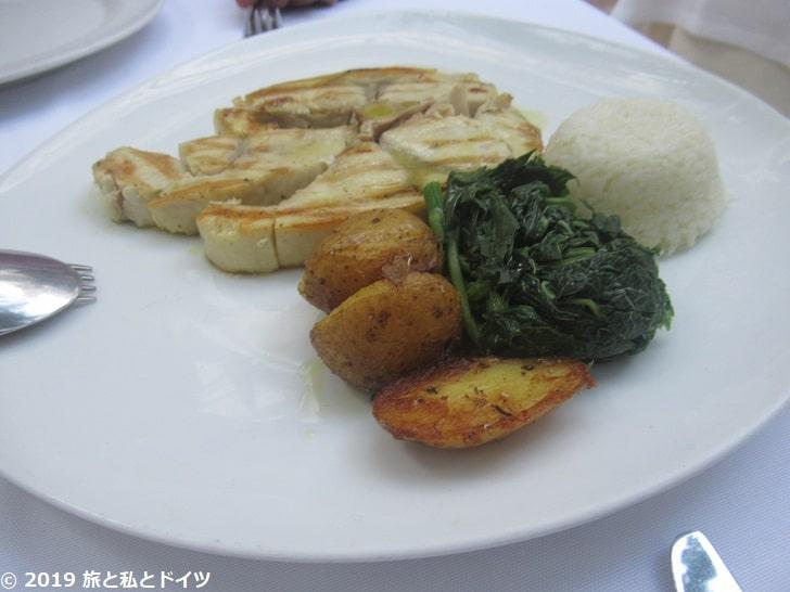 「Avra restaurant garden」のメニュー