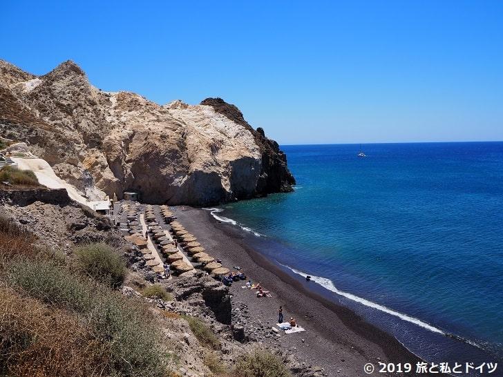 Black Beachの風景