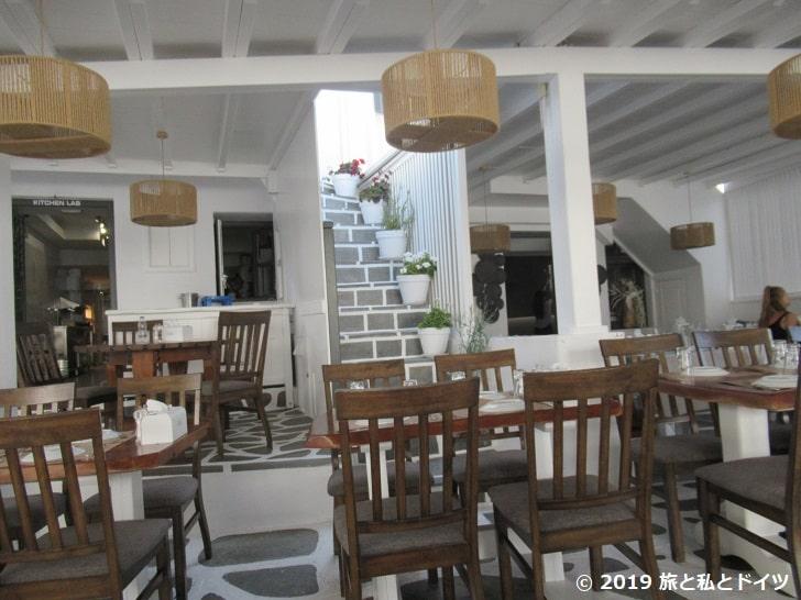 レストラン「D'angero」の内装