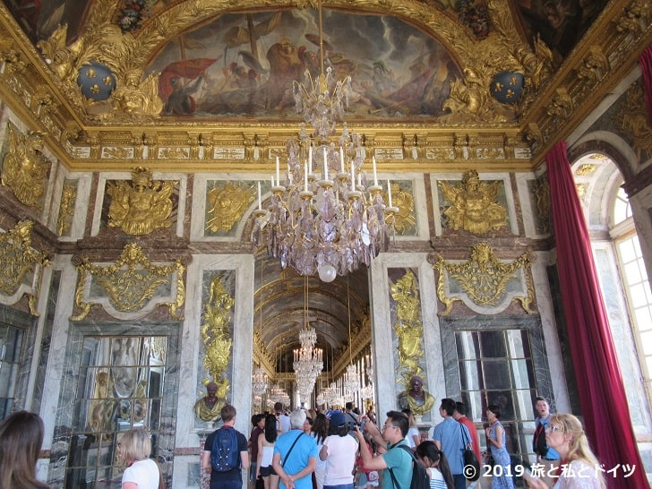 ヴェルサイユ宮殿「鏡の回廊」