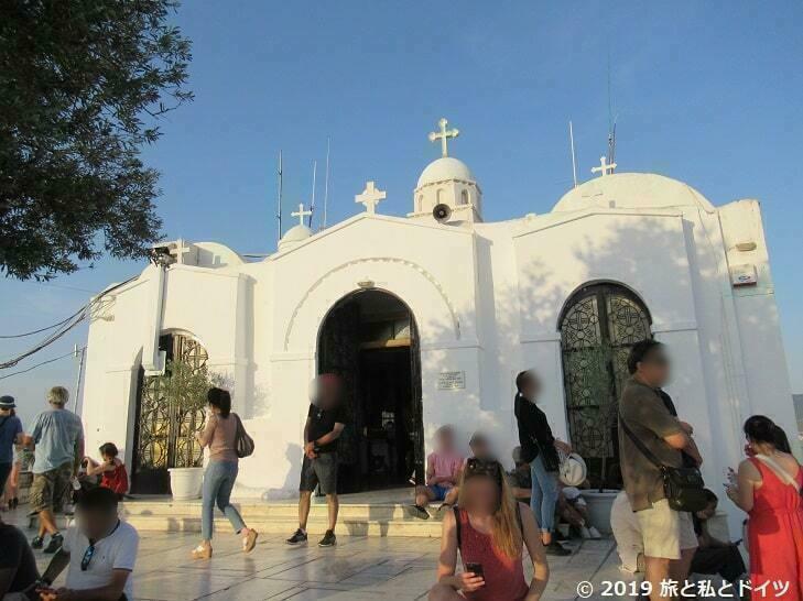 リカヴィトスの丘にある教会