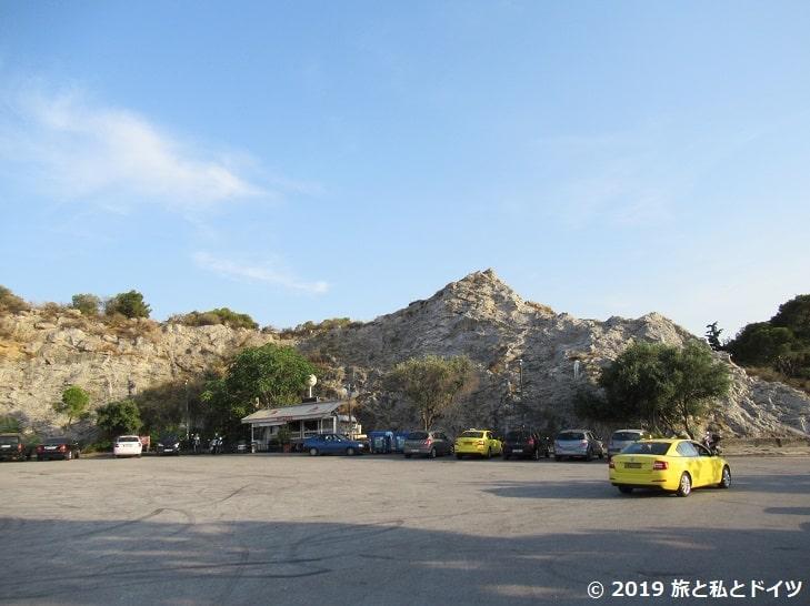 リカヴィトスの丘の駐車場