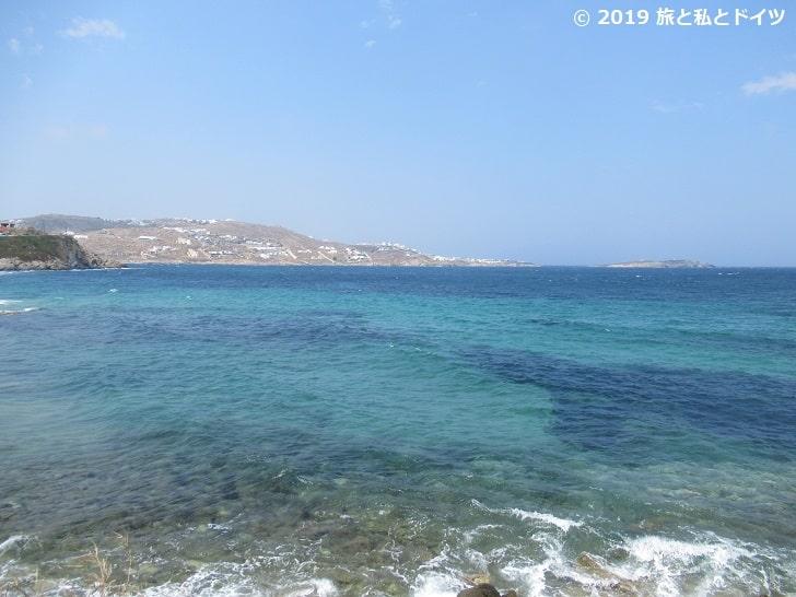 ミコノスの海