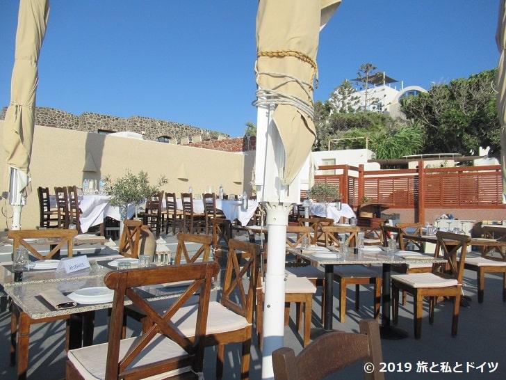 レストラン「Ochre Restaurant」の内装
