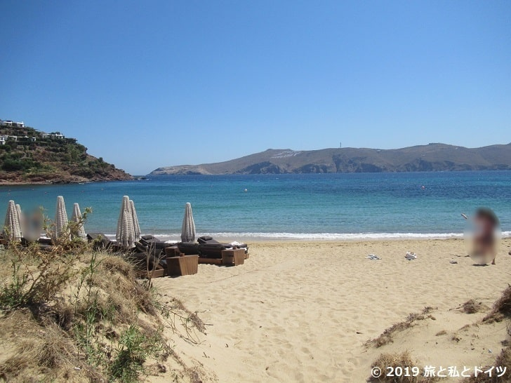 Panormosビーチ