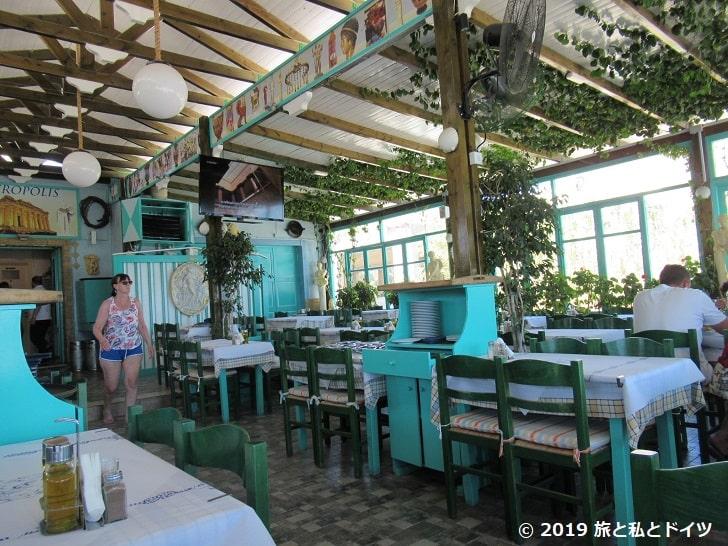 「Acropolis Restaurant」の店内
