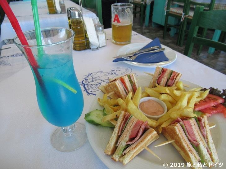 「Acropolis Restaurant」でオーダーしたメニュー